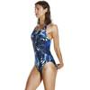 speedo Flipreverse Powerback Strój kąpielowy Kobiety niebieski